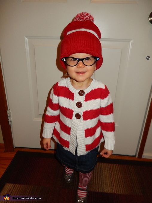 I found Wenda!, Where's Waldo and Wenda Costume