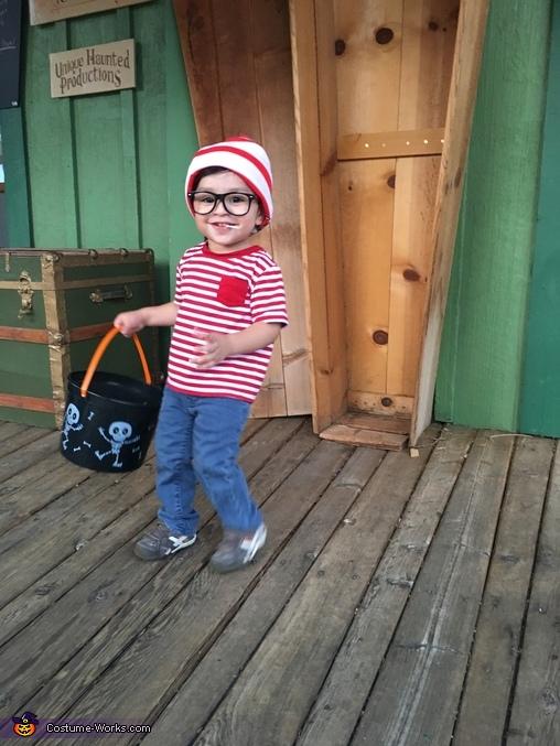 Where is Waldo Homemade Costume