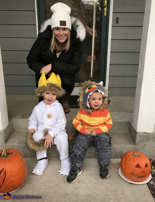 Picture of Auntie that made the costumes, Where the Wild Things Are Costume
