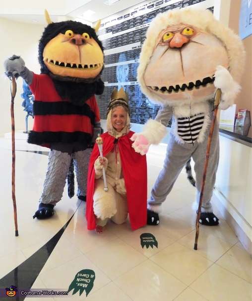 Where the Wild Things Are: Carol, Chuck and Max Costume