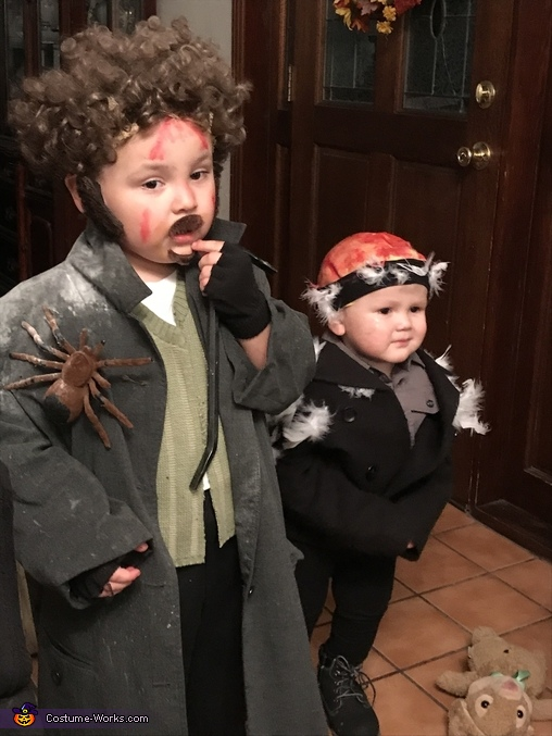 Where's the kid?, The Wet Bandits Costume