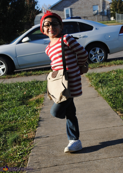 Waldo - Homemade costumes for boys