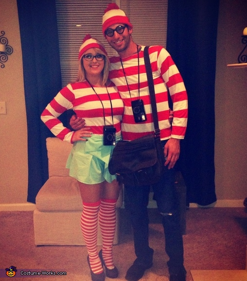 Where's Waldo? Couples Costume