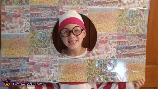 Where's Mason (Waldo) Costume