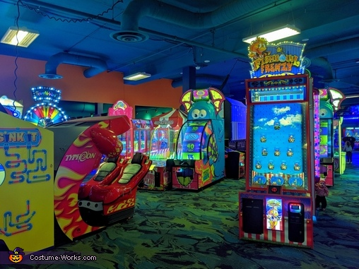 Waldo loves playing games, Where's Waldo? Roark's First Halloween Edition Costume