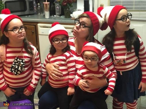 Where's Waldo and Odlaw Costume