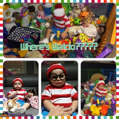 Where's Waldo? Baby Costume