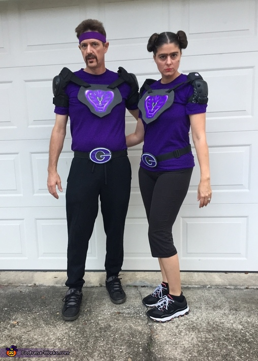 White and Fran from DodgeBall: A True Underdog Story Costume