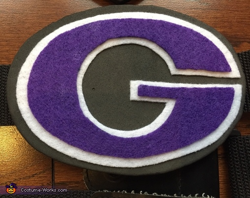 Globo Gym logo from the belts, White and Fran from DodgeBall: A True Underdog Story Costume