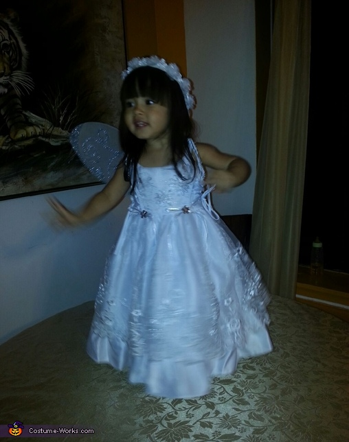 home made angel costume,  Angel Costume