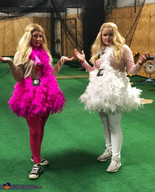White Chicks Homemade Costume