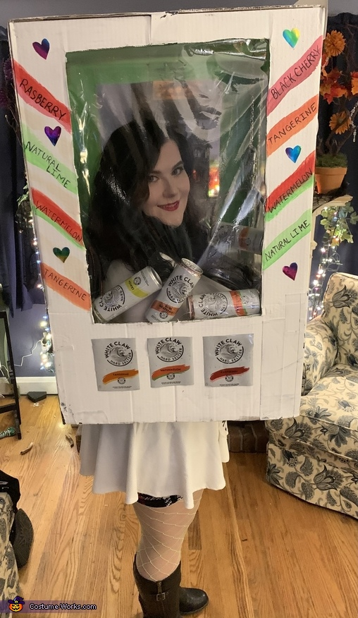 White Claw Machine Homemade Costume
