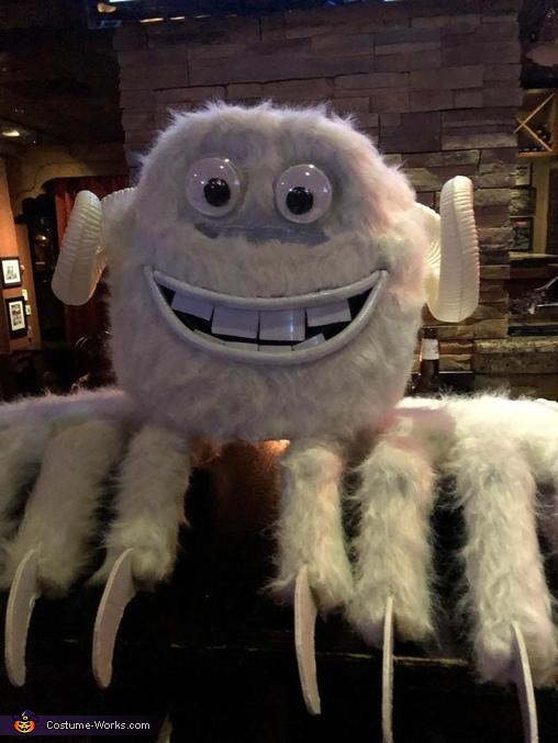 White Claw Monster Homemade Costume