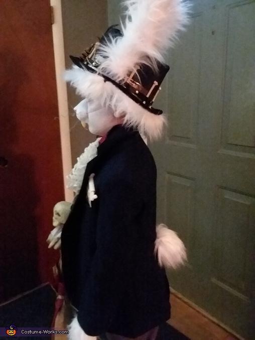 White Rabbit Homemade Costume