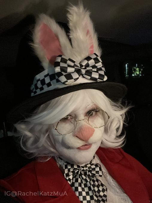 White Rabbit from Alice in Wonderland Homemade Costume