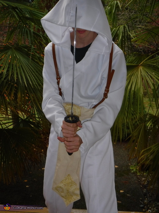 White Sand Sandmaster Homemade Costume