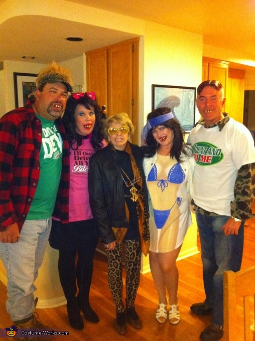 Whitetrash Family Costume