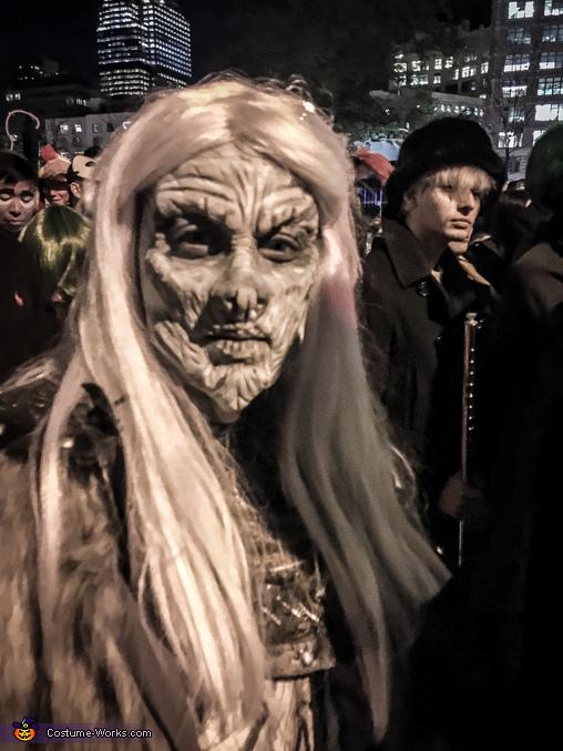 Whitewalker NYC Halloween Parade, Whitewalker Costume