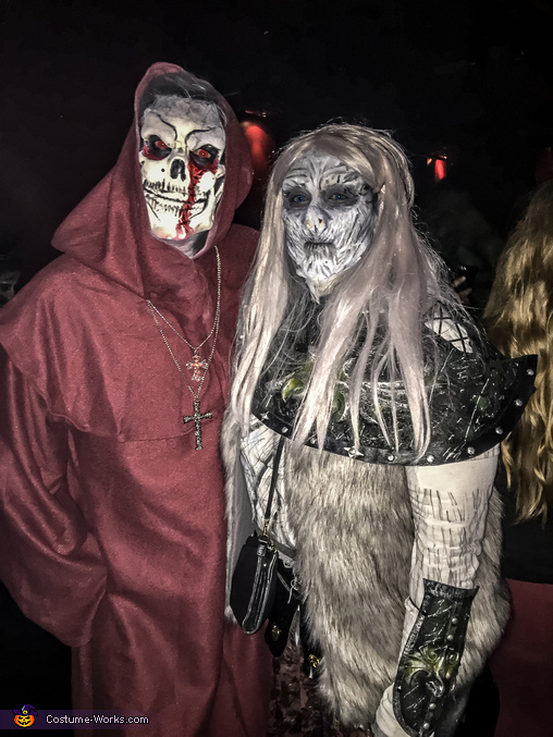 Whitewalker and Bones Monk, Whitewalker Costume