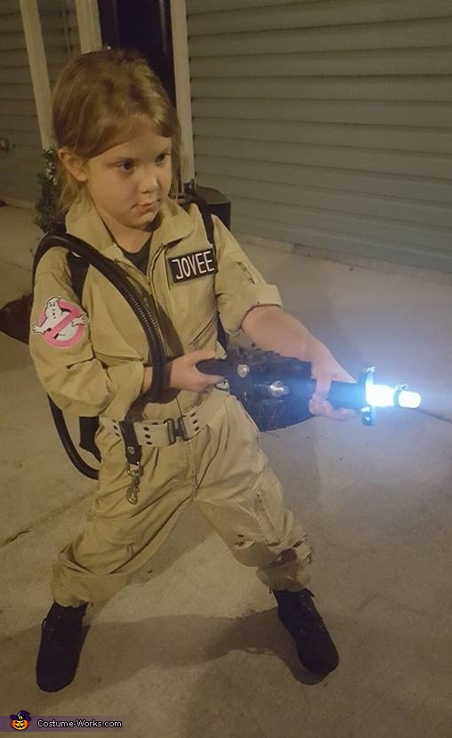 Who you gonna call? Ghostbuster Costume
