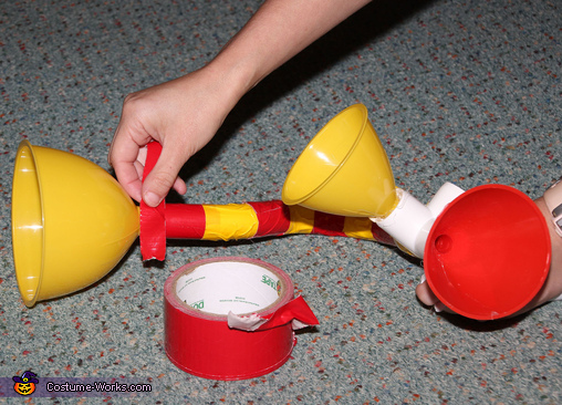 Making the Who Trumpets, Dr. Seuss Who Costumes