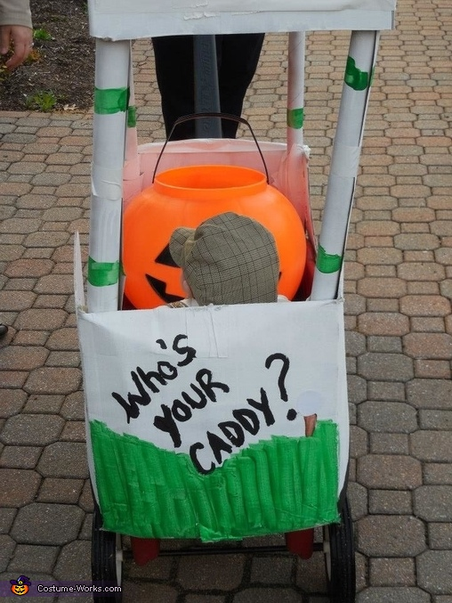 Who's your Caddy?, Little Golfer in his Golf Cart Baby Costume