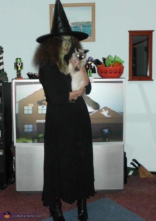 Wicked Witch and her Familiar George, Wicked Witch Costume