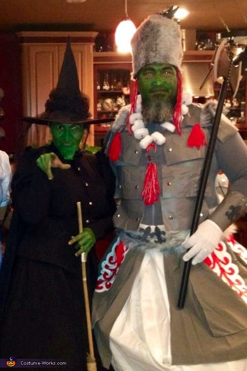 Wicked Witch and her Guard Costume