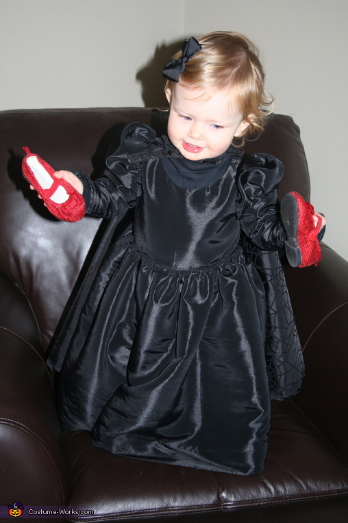 Smallest ruby slippers in town, Wicked Witch of the East Costume