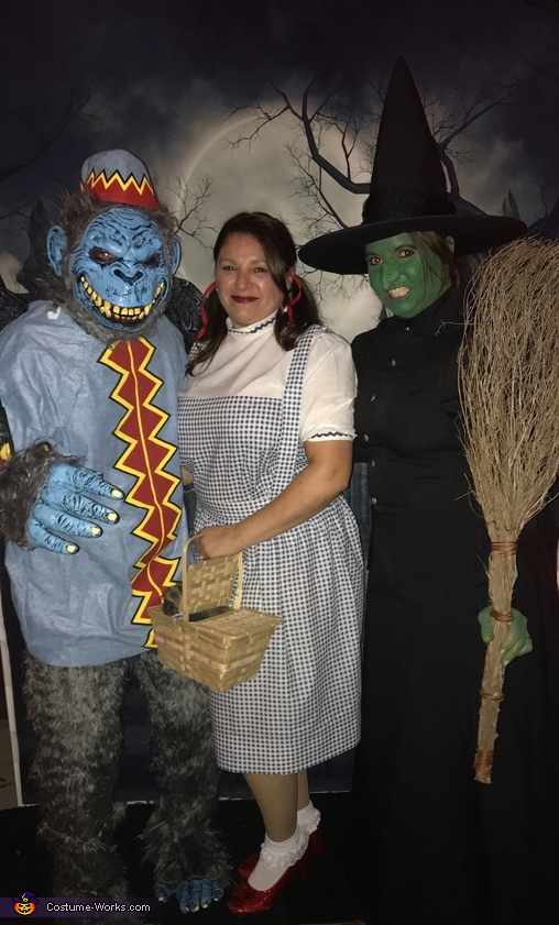 Wicked Witch of The East, Flying Monkey and Dorothy Costume