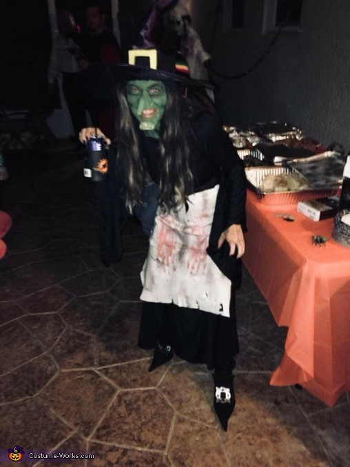 wicked witch, Wicked Witch of the Forest and Haunted Tree Costume