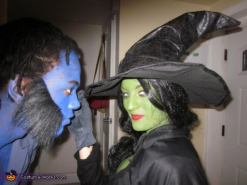 close up, Wicked Witch of the West and Flying Monkey Costume