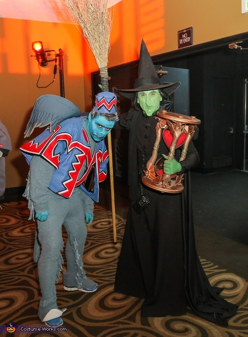 Wicked Witch of The West & Winged Monkey Costume
