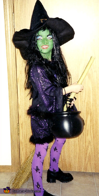Wicked Witch - Homemade costumes for girls