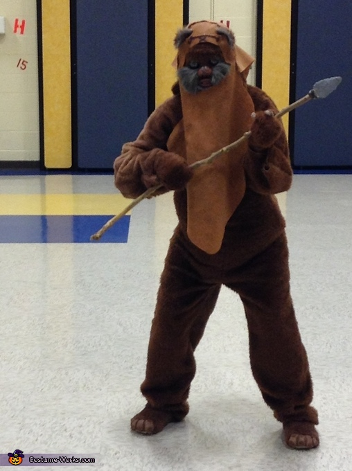 "Full costume, A ""Wicket"" Awesome Ewok Costume"