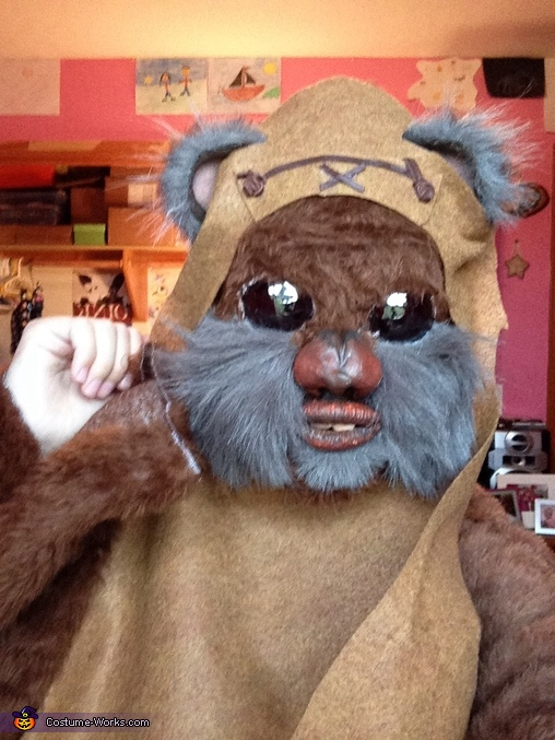 "A ""Wicket"" Awesome Ewok Costume"