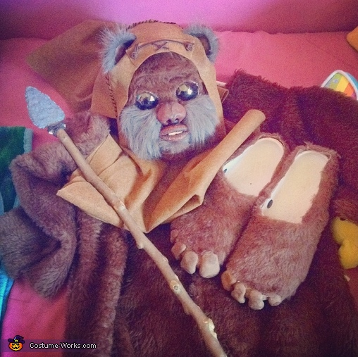 "Costume pieces , A ""Wicket"" Awesome Ewok Costume"
