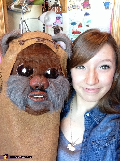 "Mask, A ""Wicket"" Awesome Ewok Costume"