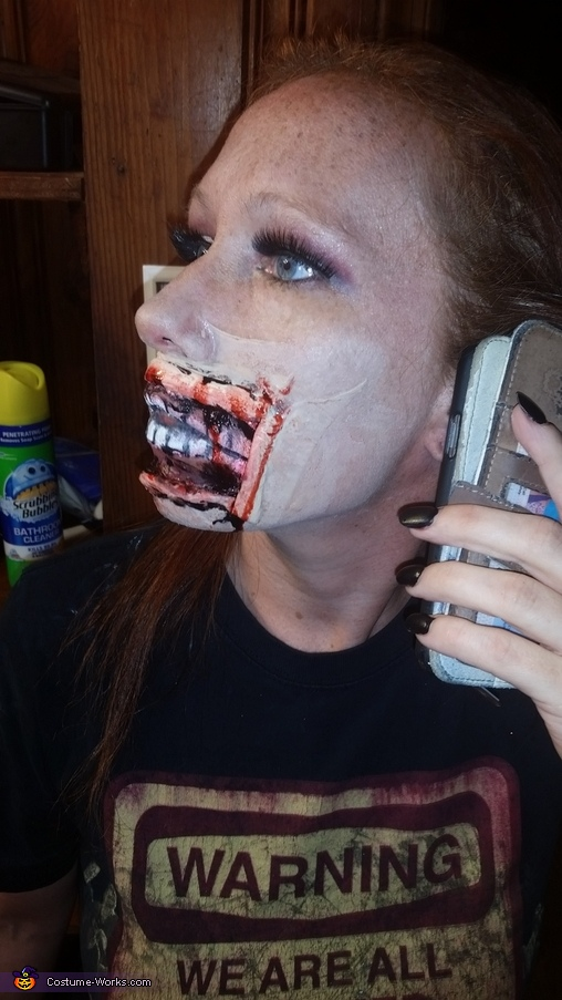 Wide Mouth Homemade Costume