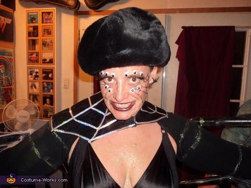 widow face, Widow Costume