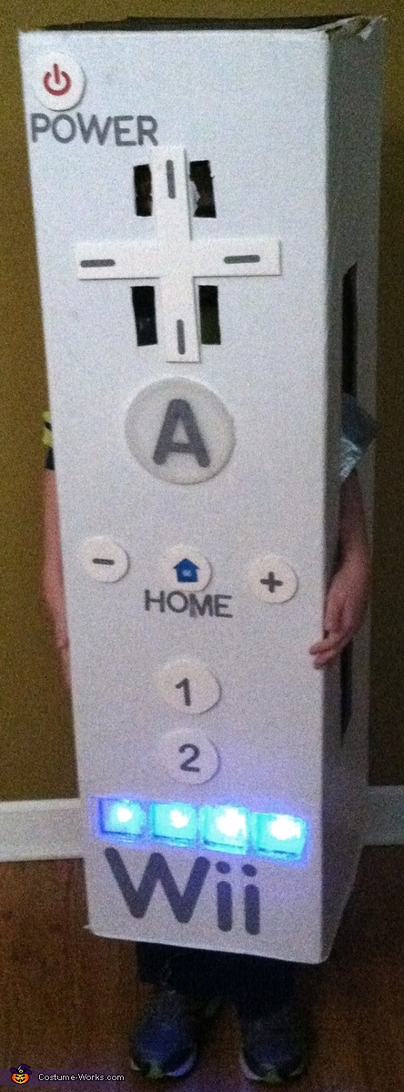 Wii remote lights up, Wii Remote Costume