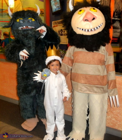 Where the Wild Things Are - Homemade costumes for families