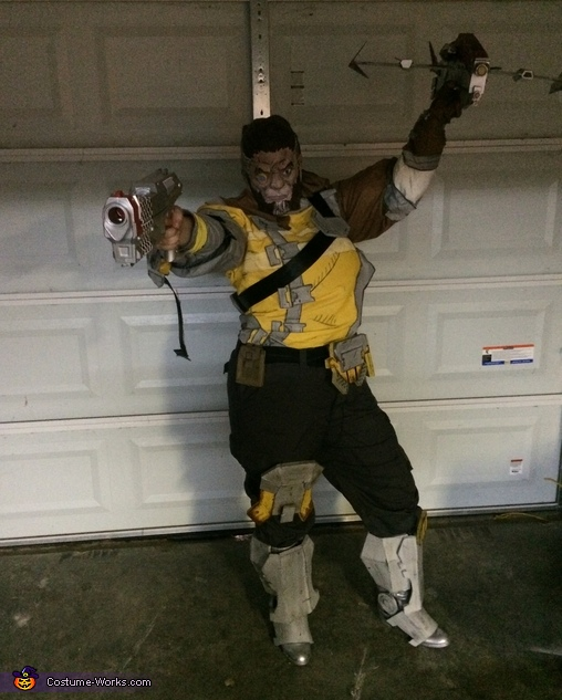 Wilhelm from Borderlands Costume