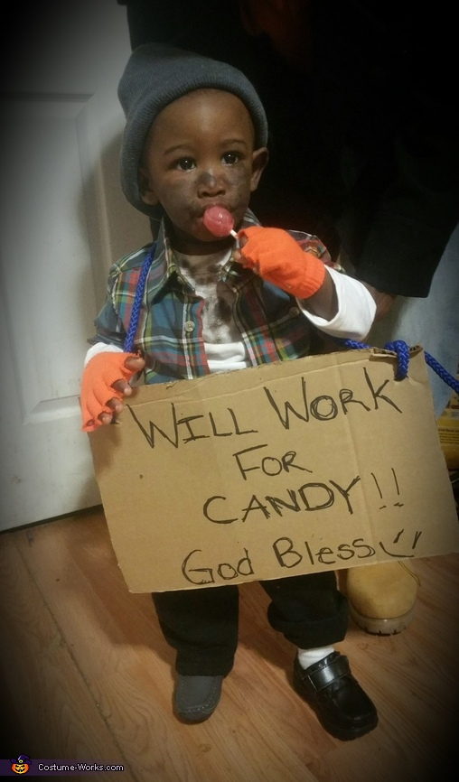 Will Work 4 Candy Costume