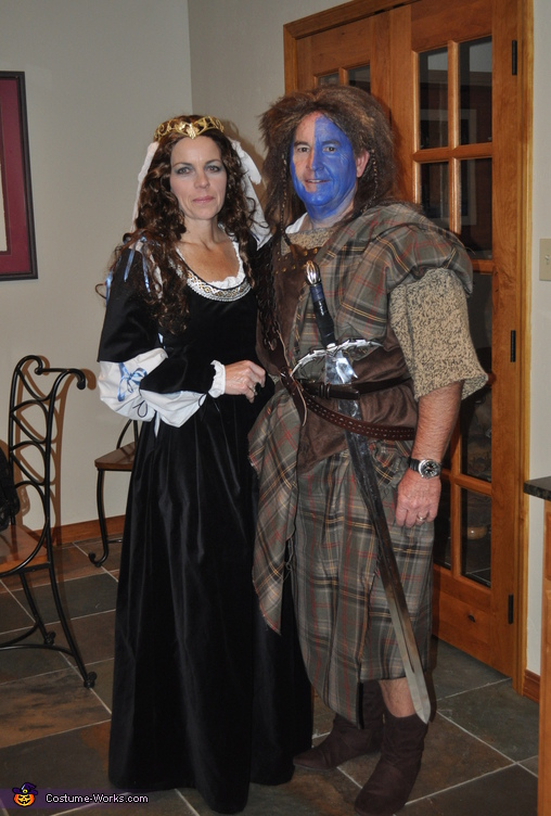 William Wallace and Queen Isabella Costume