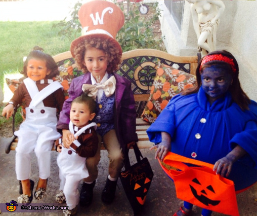 Willy Wonka and Gang Costume
