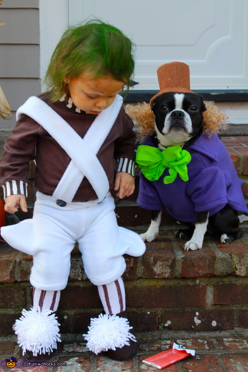 Oompa Loompa and Willy Wonka Costume