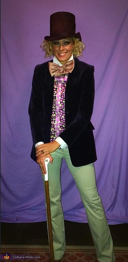 Willy Wonka Homemade Costume