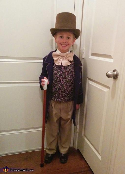 Willy Wonka Boy's Costume