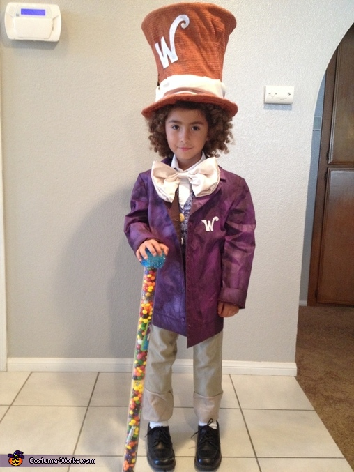 Willy Wonka, Willy Wonka and Gang Costume